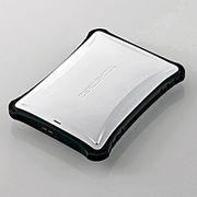 エレコム ポータブルHDD 超衝撃吸収 ZEROSHOCK 1TB ホワイト ELP-ZS010UWH