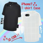 <アイフォン8/7用>iPhone8/7用Tシャツケース シリコンラバー ユニフォーム シリコン