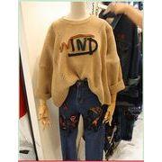 【初回送料無料】超可愛いファッションセーター♪全3色☆xz-f29851-168【2016秋冬商品】
