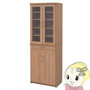 【メーカー直送】JKプラン 北欧キッチンシリーズ Keittio 60幅 食器棚 FAP-0020-NABK