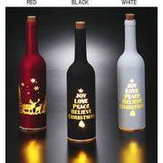 LEDクリスマスインテリアライト ボトルライト 3色展開