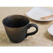 【風格のたたずまい】 和陶器の質感まで堪能 備前仕上げマグカップ