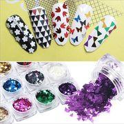 【福袋】三角形 ネイルチップ  ネイルダイヤモンド