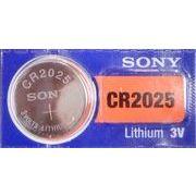 旧SONY/muRata CR2025 リチウムコイン電池 海外パッケージ