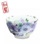 花工房 飯碗 ブルー