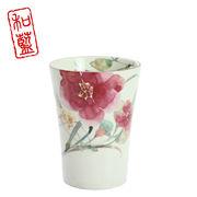 花水彩 フリーカップ シュウメイ菊