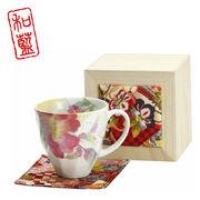 花みさき マグカップ シャクヤク(ちりめん木箱)