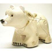 幻の白クマ
