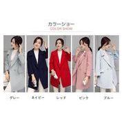 チェスターコート ロングコート 5色 レディース アウター コート  ゆったり 大きいサイズ