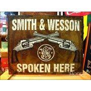 アメリカンブリキ看板 Smith&Wesson 対話 2