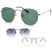 【TY3544】ボストン★メタル♪シンプルサングラス【3色展開♪】眼鏡/ユニセックス/メンズ