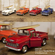 【1955 Chevy Stepside Pick-up w/Surfboard 1:32(M)】ダイキャストミニカー12台セット★