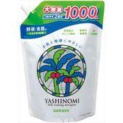 ヤシノミ洗剤 2回分詰替用 【 サラヤ 】 【 食器用洗剤・自然派 】