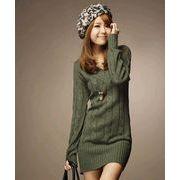 【即納】あったかシンプルVネックセーター◆全3色◆ghx84-6806