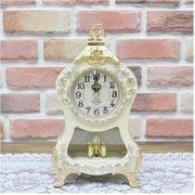 置き時計 アトム回転振り子(小)- ホワイト
