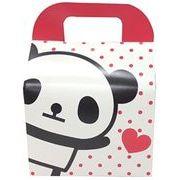 ツイン 『プレゼントなどのラッピングに』 文具シリーズギフトBOX大 ハートパンダ ホワイト GE0591 3A