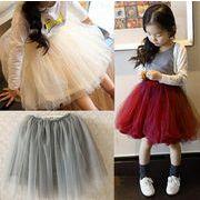超人気ママと娘お揃いスカート 子供 チュールスカート 5色 入学式 入園式