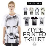 ELEVEN PARIS イレブンパリ レディース ケイトモス フランス グラフィックTシャツ パリス