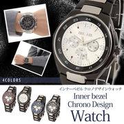 Bel Air collection バイカラー仕様フルステンレス腕時計 IK11