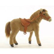 安全性・本物のような質感・感触にこだわった HANSA 製品『鞍付き馬 37』