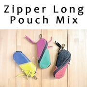 ■ピズム■ Zipper Long Pouch Color Mix