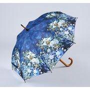 <AMANO>【ジャンプ傘】ルノワール ホワイトフラワー