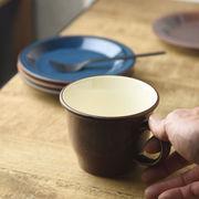 ボードー 13.5cmマグカップ/スープカップ レッドブラウン[美濃焼]