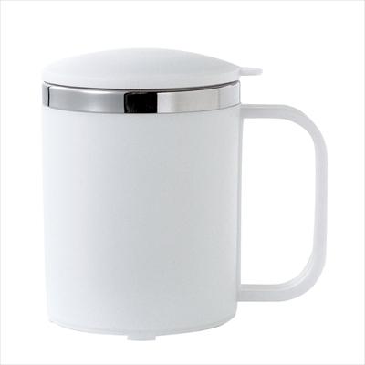 マグカップ(フタ付)/名入れ可 レジャー アウトドア 緊急 ノベルティ