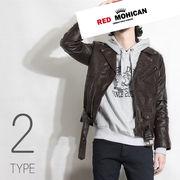 2type Red-Mohican 本革 レザージャケット ブラウン