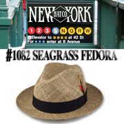 NEWYORK HAT #1082 SEAGRASS FEDORA 15708