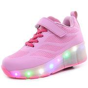 光る靴 子供 LEDスニーカー ローラーシューズ キッズ  フラッシュ  男女兼用