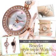 腕時計 レディース L'etoile レトワール RK05