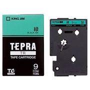 キングジム TRテープ9ミリ 緑ラベル/黒文字 TC9G 00010348
