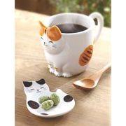 ★可愛い猫物語★ 和みの猫グッズ【猫びより マグカップ(みけ/とら/ぶち)】