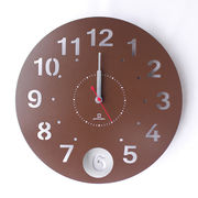 Circle clock 【振り子時計】