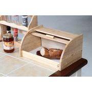 【直送可】【送料無料】【キッチン】木製ブレッドケース ボヌール
