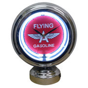 GASLAMP NEON CLOCK