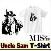 【受注生産】【MISSY MISTER】 アンクル・サム プリントTシャツ 5枚売り