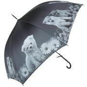 60cmジャンプ傘 犬プリント