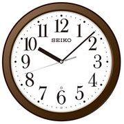 【新品取寄せ品】セイコー電波掛け時計KX218B