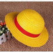 子供 麦わら帽子 ファッション 夏 ハット UV対策 つば広帽子 日よけ