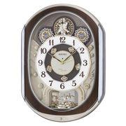 【新品取寄せ品】セイコークロック 電波からくり掛時計RE578B