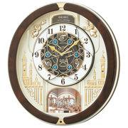 【新品取寄せ品】セイコークロック 電波からくり掛時計RE579B