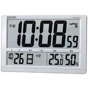 【新品取寄せ品】セイコークロック 電波置掛兼用時計SQ433S