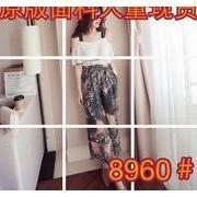 2017♪NEW【海外買付】シンプルスタイル カジュアル ワンマイルウェア 連体式  パンツ  june-sde-8960