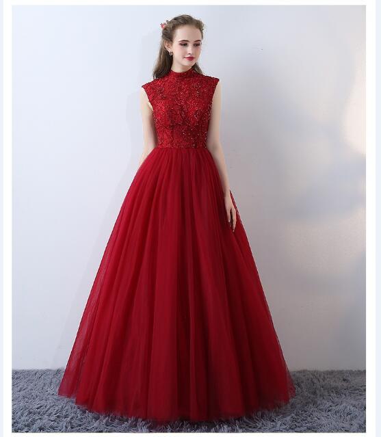6d65ea82c1b99 立ち襟 新作 フェミニン パーティードレス エレガント ロングドレス ロング丈 ウェディングドレス
