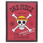 《文具》ワンピース 海賊旗ふせん大小2種セット/ルフィ ONE PIECE