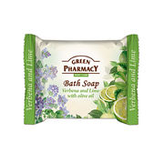 Elfa Pharm Green Pharmacy グリーンファーマシー Bath Soap Verbena and Lime with Olive oil