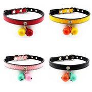 【送料無料】2色の鈴のキャットカラー(猫用首輪、犬用首輪) 20個セット 海外直送送料無料