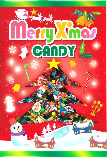 アメハマ 【予約販売】2018クリスマスキャンディ(1kg(約250粒)×10袋)